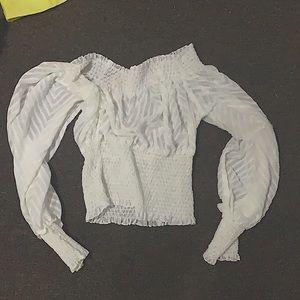 Long sleeved Puff shirt